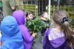 Infantil V visita a feira!