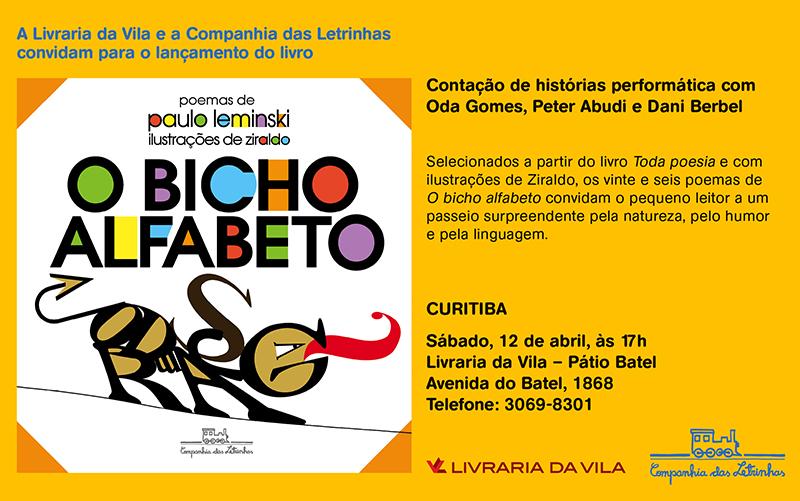 convite digital_o bicho alfabeto