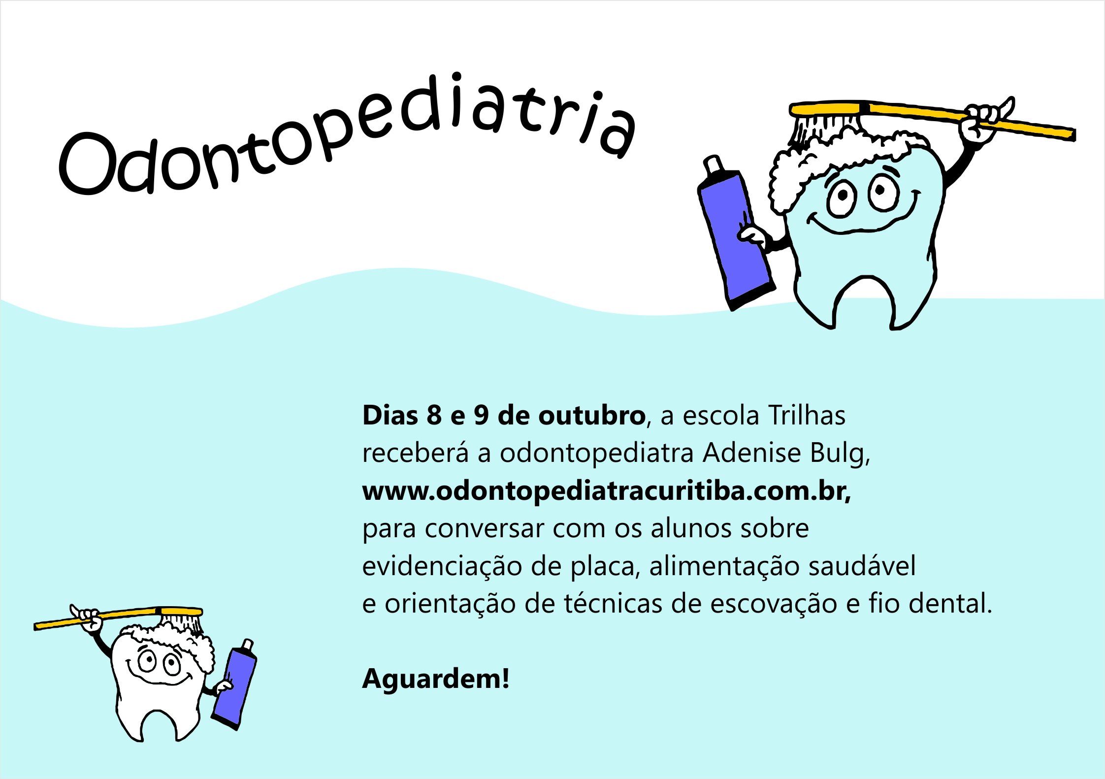 trilhas odontologia 2015 flyer virtual