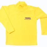 Camiseta baby look gola alta manga longa unissex - Saindo de linha! (Sem troca)